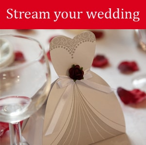 Streaming Wedding Events