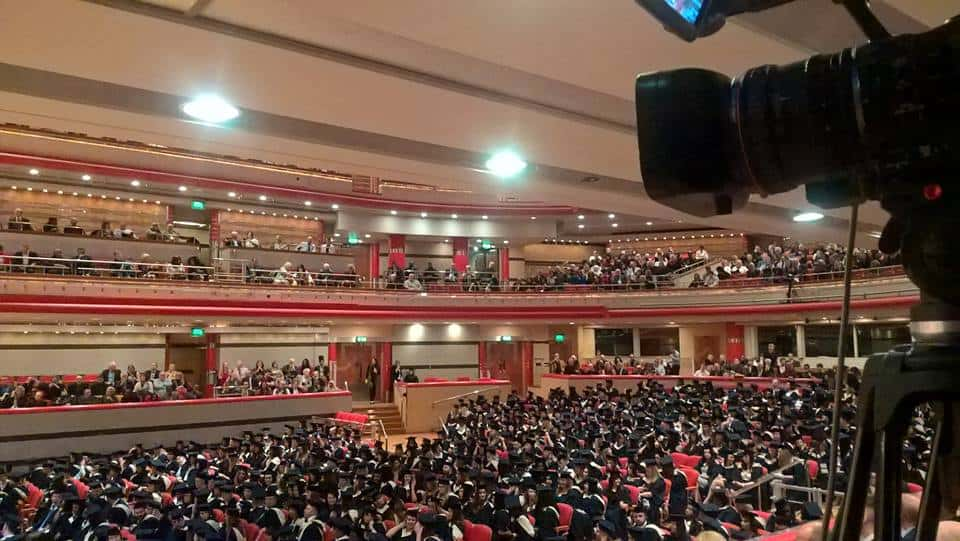 Live Streaming Graduation